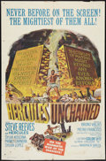 "Movie Posters:Adventure, Hercules Unchained Lot (Warner Brothers, 1959). One Sheets (3) (27""X 41"" & 25"" X 38""). Adventure.. ... (Total: 3 Items)"