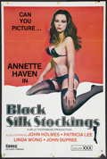 """Movie Posters:Adult, Black Silk Stockings Lot (Essex, 1977). One Sheets (3) (27"""" X 41"""" & 25"""" X 38""""). Adult.. ... (Total: 3 Items)"""