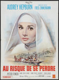 """Movie Posters:Drama, The Nun's Story (Warner Brothers, 1959). French Affiche (23.5"""" X31.5""""). Drama.. ..."""