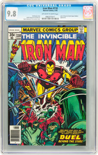 Iron Man #110 (Marvel, 1978) CGC NM/MT 9.8 Off-white to white pages