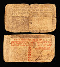 Colonial Notes:New Jersey, Two Early New Jersey Notes.. ... (Total: 2 notes)