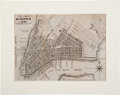"""Miscellaneous:Maps, Map of """"The Great Metropolis in 1804,"""" 7.5"""" x 5.75"""",""""Lith. of T[homas] Bonar, N.Y."""", showing thestreet..."""