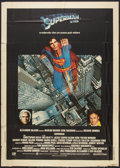"Movie Posters:Action, Superman the Movie Lot (Warner Brothers, 1978). Italian 2 - Foglio(39"" X 55""), Convention Poster (22.5"" X 29""), Color Still...(Total: 4 Items)"