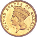 Proof Three Dollar Gold Pieces, 1888 $3 PR58 PCGS....