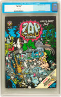 Silver Age (1956-1969):Alternative/Underground, Zap Comix #5 (Apex Novelties, 1970) CGC FN+ 6.5 Off-white pages....