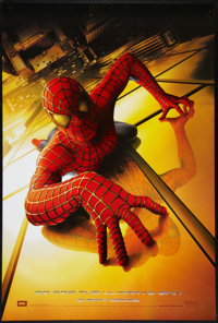 "Spider-Man (Columbia, 2002). One Sheet (27"" X 40"") DS Advance. Action"