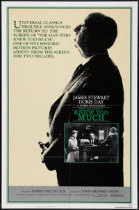"""The Man Who Knew Too Much (Universal, R-1983). One Sheet (27"""" X 41""""). Hitchcock"""