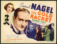 "The Gold Racket Lot (Grand National, 1937). Lobby Card Set of 8 (11"" X 14"") and Photos (2) (8"" X 10""..."