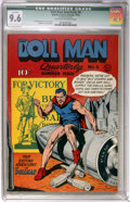 Golden Age (1938-1955):Superhero, Doll Man Quarterly #6 (Quality, 1943) CGC Qualified NM+ 9.6 Off-white to white pages....