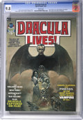 Magazines:Horror, Dracula Lives! #1 (Marvel, 1973) CGC NM/MT 9.8 White pages....