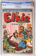 Golden Age (1938-1955):Funny Animal, Elsie the Cow #1 Crowley Copy pedigree (D.S. Publishing, 1949) CGCNM 9.4 Cream to off-white pages. ...