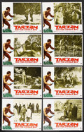 "Movie Posters:Adventure, Tarzan and the Jungle Boy (Paramount, 1968). Lobby Card Set of 8(11"" X 14""). Adventure..... (Total: 8 Items)"