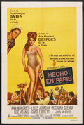 "Movie Posters:Comedy, Made in Paris (MGM, 1966). Argentinean Poster (29"" X 43""). Comedy. ..."