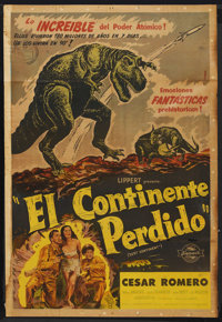 """Lost Continent (20th Century Fox, 1951). Argentinean Poster (29"""" X 43""""). Science Fiction"""