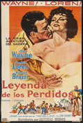 """Movie Posters:Adventure, Legend of the Lost (United Artists, 1957). Argentinean Poster(27.5"""" X 41""""). Adventure. ..."""