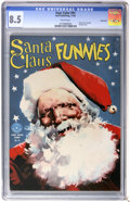 Golden Age (1938-1955):Humor, Four Color #91 Santa Claus Funnies - Vancouver pedigree (Dell, 1945) CGC VF+ 8.5 White pages....