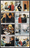 """Movie Posters:Drama, The Panic in Needle Park (20th Century Fox, 1971). Lobby Card Set of 8 (11"""" X 14"""") and Ad Slick (8.5"""" X 9.75""""). Drama. ... (Total: 9 Items)"""