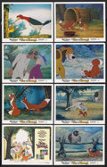 "Movie Posters:Animated, The Fox and the Hound (Buena Vista, 1981). Lobby Card Set of 8 (11"" X 14""). Animated. ... (Total: 8 Items)"