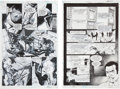 Original Comic Art:Panel Pages, Ethan van Sciver and Prentis Rollins Flash: Iron Heightspage 1 and 19 Original Art (DC, 2001).... (Total: 2 Original Art)