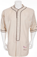 Baseball Collectibles:Uniforms, 1950'S-60'S Jack Tobin Game Worn St. Louis Browns Old Timers Jersey....