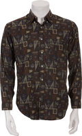 Music Memorabilia:Costumes, Buddy Holly's Patterned Shirt....