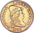 Early Eagles, 1799 $10 Large Stars Obverse--Scratches, Cleaned--NGC Details. XF.BD-10, R.3....