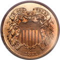 Proof Two Cent Pieces, 1871 2C Two Cent Piece PR66 Red PCGS....