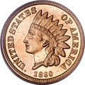 Proof Indian Cents, 1860 1C Cent PR65 PCGS....
