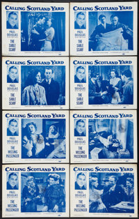 "Calling Scotland Yard (Paramount, 1954). Lobby Card Sets of 4 (2) (11"" X 14""). Short Subject. ... (Total: 8 It..."