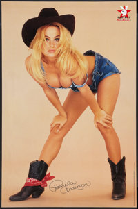 """Pamela Anderson/Anna Marie Goddard Playboy Poster Lot (O.S.P. Publishing, 1994). Posters (2) (23"""" X 35""""). Adul..."""