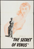 "Movie Posters:Sexploitation, The Secret of Venus (Premiere Releasing, 1961). One Sheets (4); (3)(28"" X 42""), (28"" X 41""). Sexploitation.. ... (Total: 4 Items)"