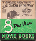 Memorabilia:Movie-Related, 8 Preview Movie Books (Whitman, 1935)....
