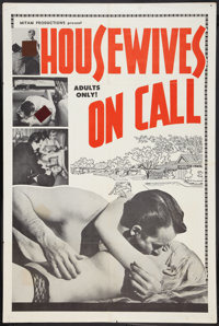 """Housewives on Call Lot (Mitam Productions, 1967). One Sheets (4) (2) (27"""" X 41""""), (28"""" X 40""""), and (..."""