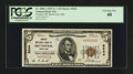 National Bank Notes:Maryland, Brunswick, MD - $5 1929 Ty. 1 Peoples NB Ch. # 8244. ...