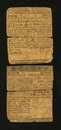 Colonial Notes:Delaware, Delaware June 1, 1759 15s and 20s.. ... (Total: 2 notes)