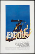 "Movie Posters:Drama, Exodus (United Artists, 1961). One Sheet (27"" X 41""). Drama.. ..."