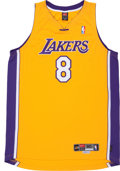 "Basketball Collectibles:Uniforms, Kobe Bryant Signed ""Upper Deck Authenticated"" Jersey...."