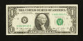 Error Notes:Ink Smears, Fr. 1908-K $1 1974 Federal Reserve Note. Very Fine.. ...