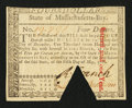 Colonial Notes:Massachusetts, Massachusetts May 5, 1780 $4 Choice About New.. ...