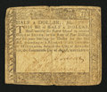 Colonial Notes:Maryland, Maryland August 14, 1776 $1/2 Fine.. ...