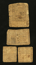 Colonial Notes:New Jersey, Three Early Colonials Good.. ... (Total: 3 notes)