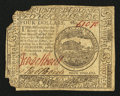 Colonial Notes:Continental Congress Issues, Continental Currency February 17, 1776 $4 Fine.. ...