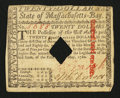 Colonial Notes:Massachusetts, Massachusetts May 5, 1780 $20 Extremely Fine.. ...
