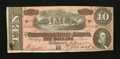 Confederate Notes:1864 Issues, T68 $10 1864.. ...