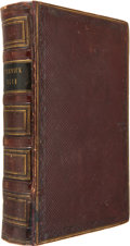 Books:Fiction, Charles Dickens. The Posthumous Papers of the Pickwick Club.London: Chapman and Hall, 1837. First edition. Forty-th...