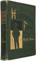 Books:Fiction, Mark Twain. Adventures of Huckleberry Finn (Tom Sawyer'sComrade). With One Hundred and Seventy-Four Illustrations. ...