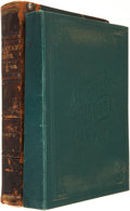 Books:First Editions, Romeyn B. Hough. The American Woods, Exhibited in ActualSpecimens. Part I. Lowville, New York: Published by the...