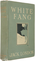 Books:Signed Editions, Jack London. White Fang. New York: Macmillan Company, 1906..First published edition following the 1905 copyri...