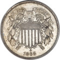 Patterns, 1865 2C Two Cents, Judd-408, High R.7, PCGS Genuine. ...