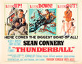 "Movie Posters:James Bond, Thunderball (United Artists, 1965). Half Sheet (22"" X 28"").. ..."